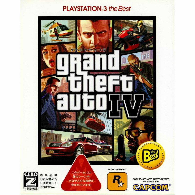 【最大ポイント10倍! 11月25日10時スタート!】【中古】【表紙説明書なし】[PS3]Grand Theft Auto IV(グランド・セフト・オート4) PlayStation3 the Best(BLJM-55011)(20090827)
