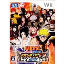 【中古】[Wii]NARUTO-ナルト-疾風伝激闘忍者大戦!EX2(20071129)