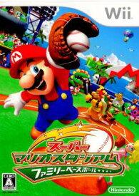 【中古】[Wii]スーパーマリオスタジアム ファミリーベースボール(20080619)
