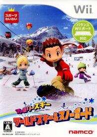【中古】[Wii]ファミリースキー ワールド&スノーボード(20081113)