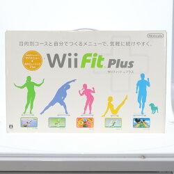 【中古】[表紙説明書なし][Wii]WiiFitPlus(Wiiフィットプラス)バランスWiiボードセット(白)(20091001)【RCP】