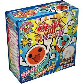 【中古】[Wii]太鼓の達人Wii ドドーンと2代目! 太鼓とバチ同梱版(20091119)