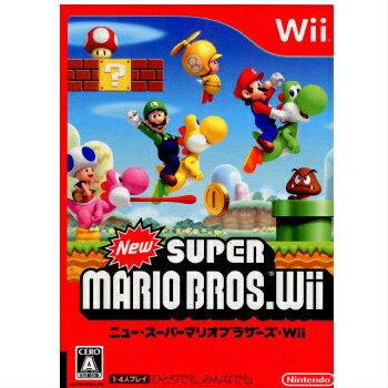 【中古】【表紙説明書なし】[Wii]New(ニュー) スーパーマリオブラザーズ Wii(20091203)