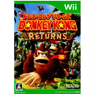 [there is no cover manual] [Wii] Donkey Kong returns (DONKEY KONG RETURNS)(20101209)