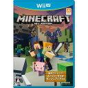 【新品即納】[WiiU]MINECRAFT: Wii U EDITION(マインクラフト Wii U エディション)(20160623)【RCP】