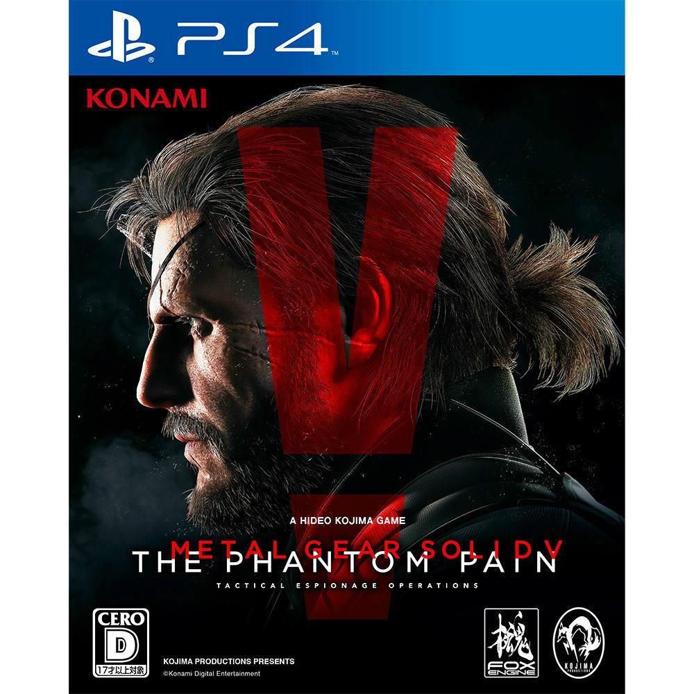【中古】[PS4]METAL GEAR SOLID V: THE PHANTOM PAIN(メタルギアソリッド5 ファントムペイン) 通常版(20150902)