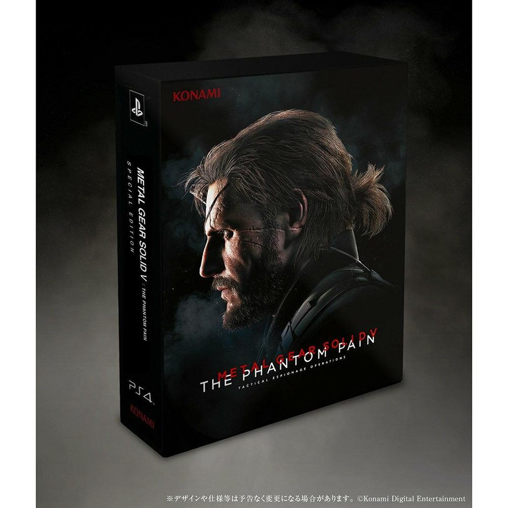【中古】[PS4]METAL GEAR SOLID V: THE PHANTOM PAIN(メタルギアソリッド5 ファントムペイン) SPECIAL EDITION 限定版(20150902)