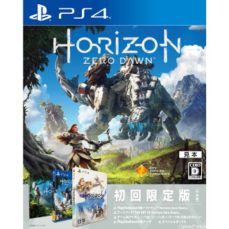 [PS4] 地平线零黎明 (地平线零黎明) 限量版 (20170302)