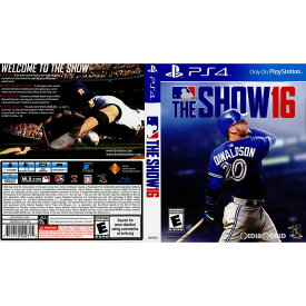 【中古】[PS4]MLB THE SHOW 16(北米版)(3000929)(20160329)