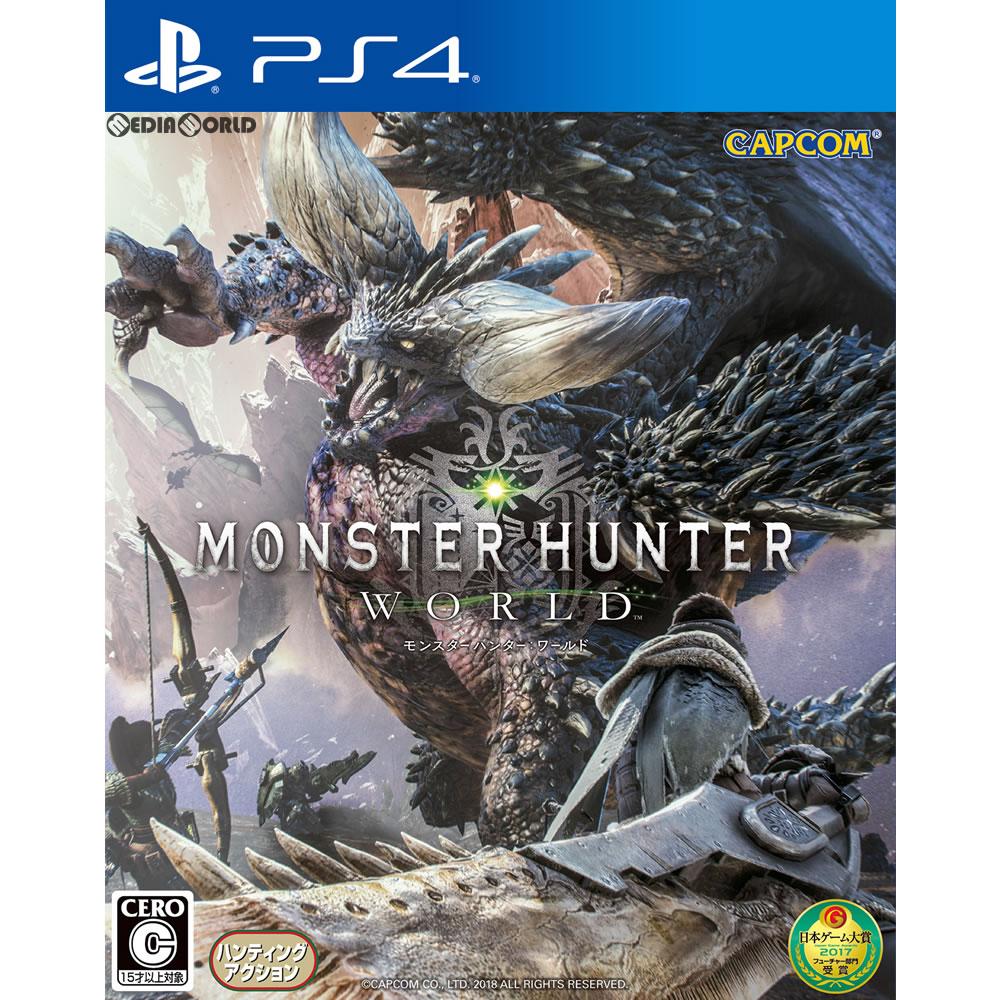 【中古】[PS4]MONSTER HUNTER: WORLD(モンスターハンター:ワールド) 通常版(20180126)