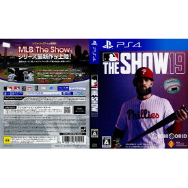 【中古】[PS4]MLB The Show 19(英語版) Amazon.co.jp・ゲオ限定(20190328)