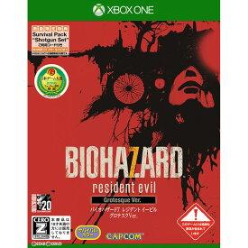 【中古】[XboxOne]バイオハザード7 レジデント イービル グロテスクVer.(BIOHAZARD 7 resident evil Grotesque Ver.)(20170126)