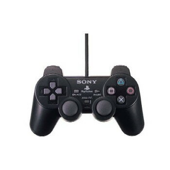 【中古】[ACC][PS2]アナログコントローラ デュアルショック2(DUALSHOCK 2) ブラック ソニー(SCPH-10010)(20010102)