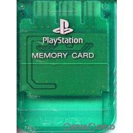 【中古】[ACC][PS]PlayStation(プレイステーション) メモリーカード エメラルド SCE(SCPH-1020GI)(19980226)