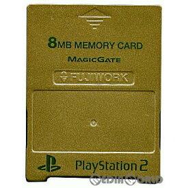 【中古】[ACC][PS2]PlayStation2専用 メモリーキング2 シャンパンゴールド ソニーライセンス商品 フジワーク(PXMC-GD)(20020401)