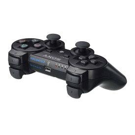 【中古】[ACC][PS3]ワイヤレスコントローラー (DUALSHOCK3) デュアルショック3 ブラック SCE(CECH-ZC2J)(20071111)