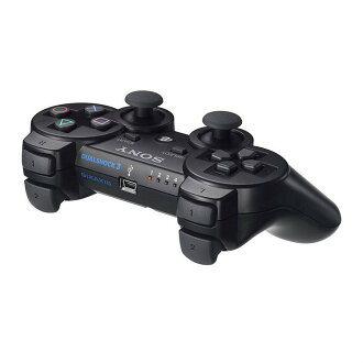 [ACC][PS3]無線控製器(DUALSHOCK3)雙重打擊3黑色SCE(CECH-ZC2J)(20071111)