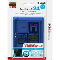 【新品】【お取り寄せ】[ACC][3DS]カードケース24forニンテンドー3DSブルーHORI(3DS-021)(20110226)