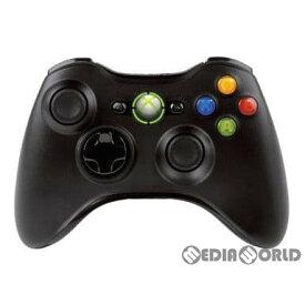 【中古】[ACC][Xbox360]Xbox360 ワイヤレスコントローラー リキッドブラック マイクロソフト(NSF-00004)(20101125)