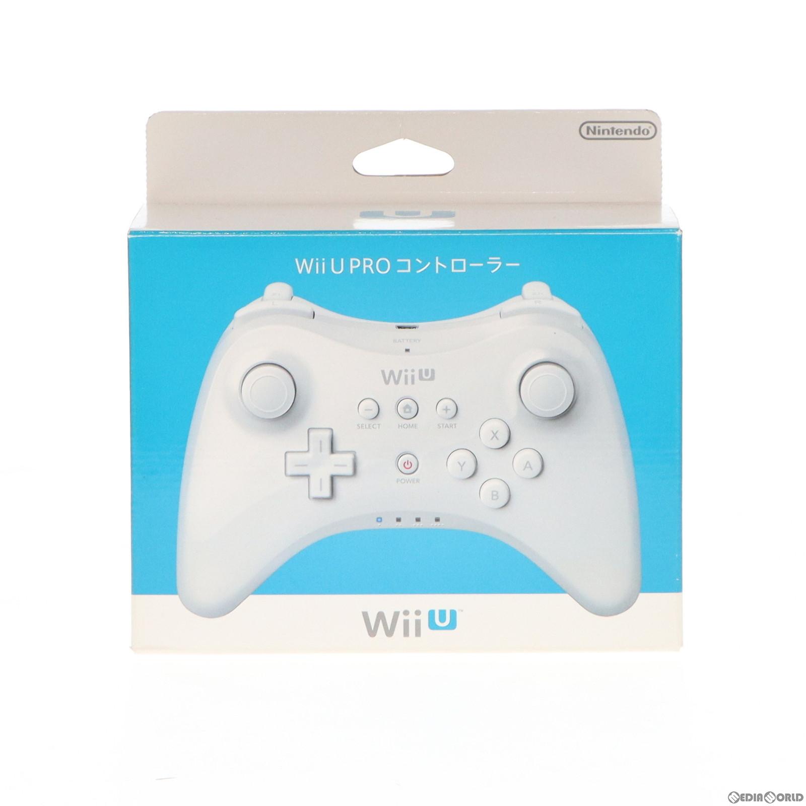 【中古】[ACC][WiiU]Wii U PROコントローラー shiro(Wii U プロコントローラー シロ) 任天堂(WUP-A-RSWA)(20121208)