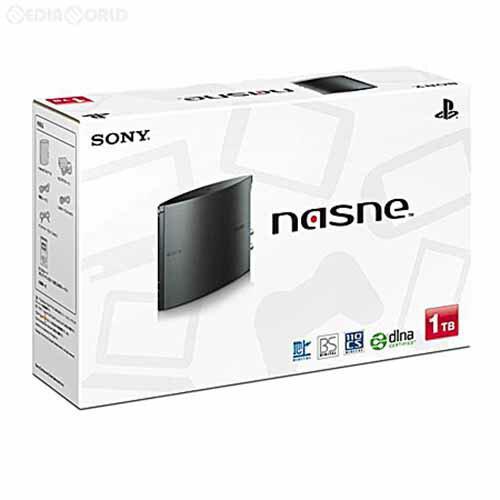 【中古】[ACC][PS4]ネットワークレコーダー&メディアストレージ nasne(ナスネ) 1TBモデル SIE(CUHJ-15004)(20161208)