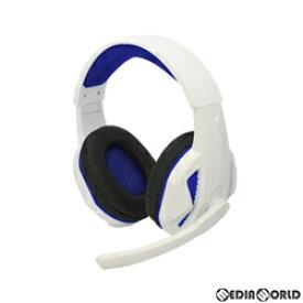 【予約前日発送】[ACC][PS5](PS5/PS4/PC用) マルチ ゲーミングヘッドセット(ホワイト&ブルー) コロンバスサークル(CC-P5MGH-WB)(2020年12月上旬)