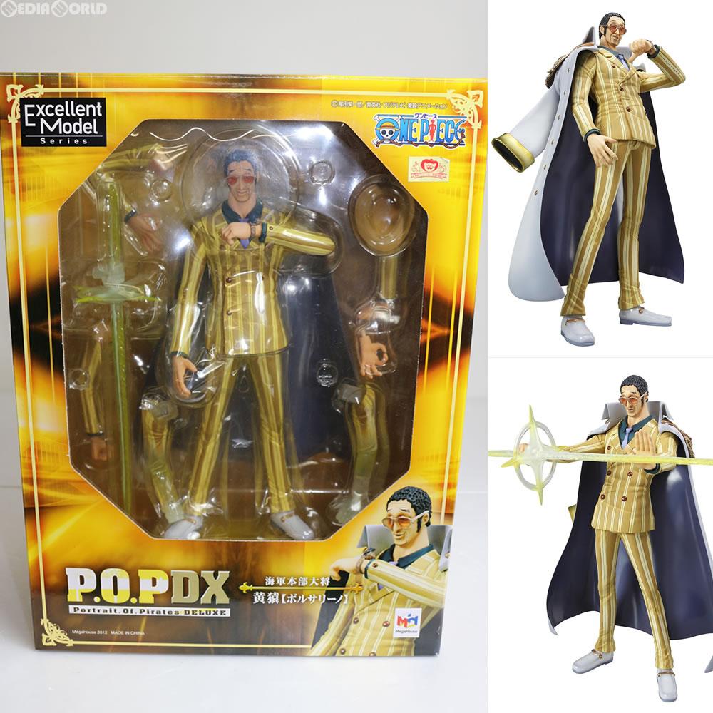 【中古】[FIG]P.O.P Portrait.Of.Pirates NEO-DX 海軍本部大将 黄猿(ボルサリーノ) ONE PIECE(ワンピース) フィギュア メガハウス(20120131)
