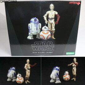 【中古】[FIG]ARTFX+ R2-D2 & C-3PO with BB-8 STAR WARS(スター・ウォーズ)/フォースの覚醒 1/10 簡易組立キット フィギュア(SW114) コトブキヤ(20160625)