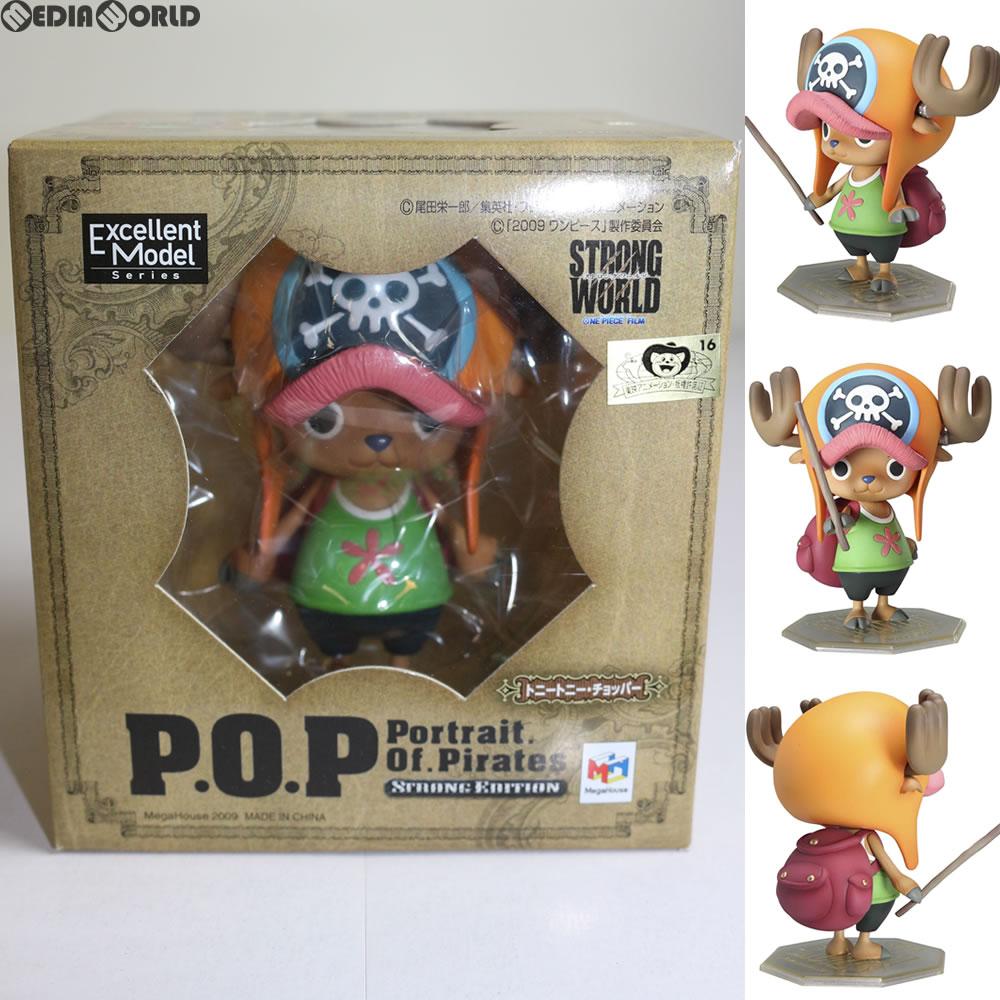【中古】[FIG]Portrait.Of.Pirates P.O.P STRONG EDITION トニートニー・チョッパー ONE PIECE(ワンピース) STRONG WORLD 完成品 フィギュア メガハウス(20100626)