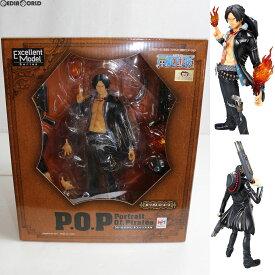 【中古】[未開封][FIG]Portrait.Of.Pirates P.O.P STRONG EDITION ポートガス・D・エース ONE PIECE(ワンピース) 完成品 フィギュア メガハウス(20110630)