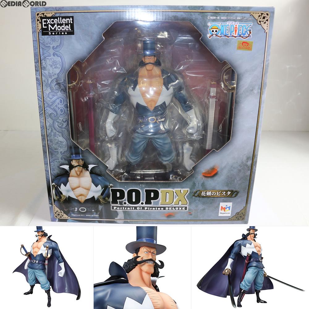 【中古】【箱難あり】[FIG]Portrait.Of.Pirates P.O.P NEO-DX 花剣のビスタ ONE PIECE(ワンピース) 完成品フィギュア メガハウス(20110630)