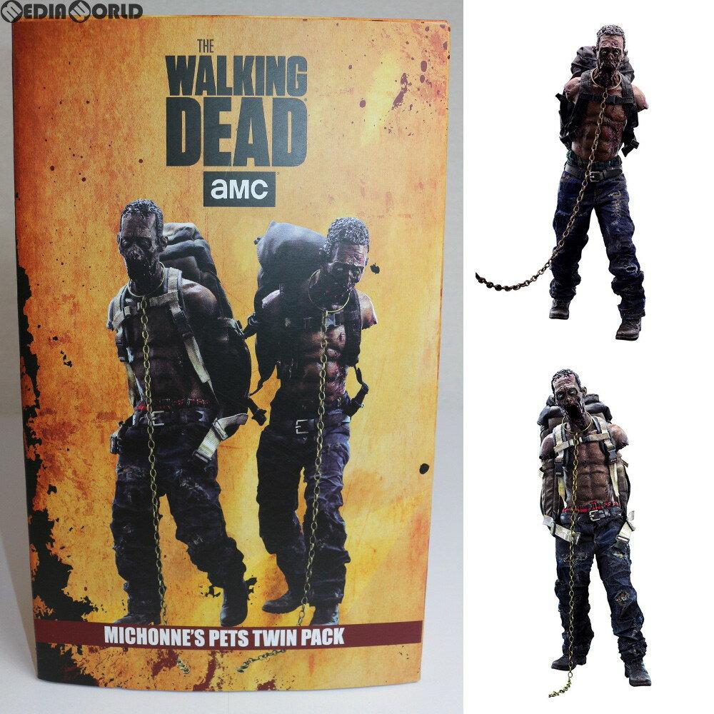 【中古】[FIG]Michonne's Pet Walker Twin Pack(ミショーンのペット・ウォーカー ツイン・パック) THE WALKING DEAD(ウォーキング・デッド) 1/6 フィギュア threezero(スリーゼロ)(20180315)