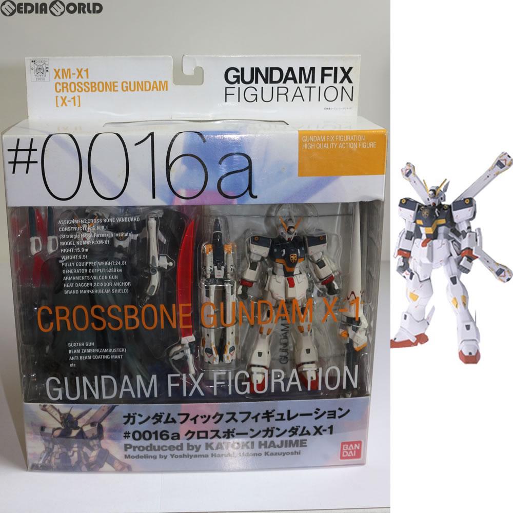 【中古】[FIG]GUNDAM FIX FIGURATION #0016a クロスボーンガンダムX-1 機動戦士クロスボーン・ガンダム 完成品 フィギュア バンダイ(20030831)