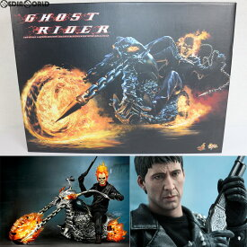 【中古】[FIG]ムービー・マスターピース ゴーストライダー&ヘルバイク 1/6スケール 可動フィギュア(MM#133) ホットトイズ(20110531)
