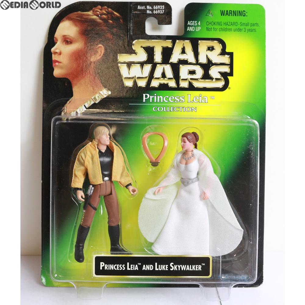 【中古】[未開封][FIG]Princess Leia Collection Princess Leia & Luke Skywalker(レイア姫&ルーク・スカイウォーカー) STAR WARS(スター・ウォーズ) 完成品 フィギュア(66937) ハズブロ(19971231)