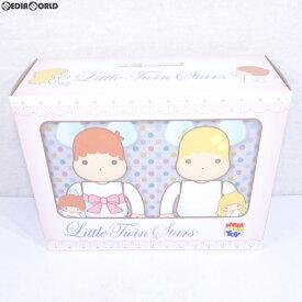 【中古】[未開封][FIG]BE@RBRICK(ベアブリック) Little Twin Stars(リトルツインスターズ) キキ & ララ セット 100%(レトロカラーVer.) 2PACK(パック) 完成品 可動フィギュア メディコム・トイ(20190320)