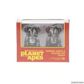【中古】[未開封][FIG]BE@RBRICK(ベアブリック) GENERAL URSUS & SOLDIER APE(ウルサス将軍&ソルジャー・エイプ) PLANET OF THE APES/猿の惑星 2パック 完成品 可動フィギュア メディコム・トイ(20190619)