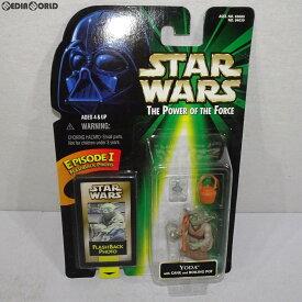 【中古】[FIG]The Power Of The Force スター・ウォーズ ベーシックフィギュア ヨーダ ルーティッドヘア STAR WARS 完成品 可動フィギュア(84039) ハズブロージャパン(19981231)