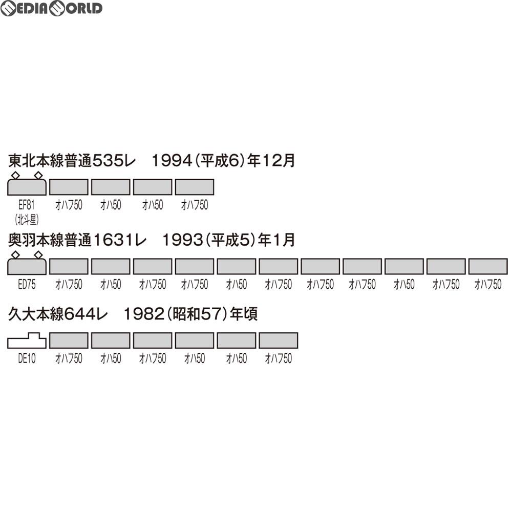 【予約安心発送】[RWM]HO-556 国鉄客車 オハフ50形 HOゲージ 鉄道模型 TOMIX(トミックス)(2018年4月)