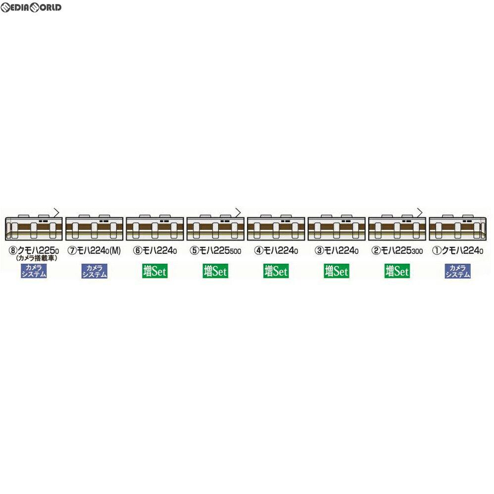 【予約安心発送】[RWM]5595 車載カメラシステムセット(225-0系)(3両) Nゲージ 鉄道模型 TOMIX(トミックス)(2018年10月)