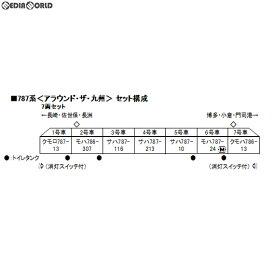 【新品】【O倉庫】[RWM]10-1540 787系「アラウンド・ザ・九州」 7両セット Nゲージ 鉄道模型 KATO(カトー)(20191031)