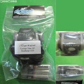 【新品即納】[MIL]Cyclops タイタンXPヘッドランプLED Titan XP Headlamp LED with 3 AAA Batteries Polymer Black and Gray(#431294)(20160817)