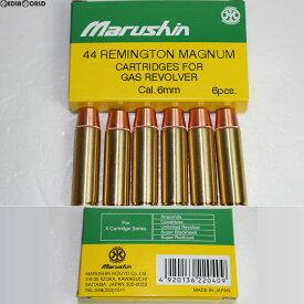 【新品即納】[MIL]マルシン工業 44マグナム用 スペアリアルXカートリッジ 6mmBB用 6発セット(20161025)