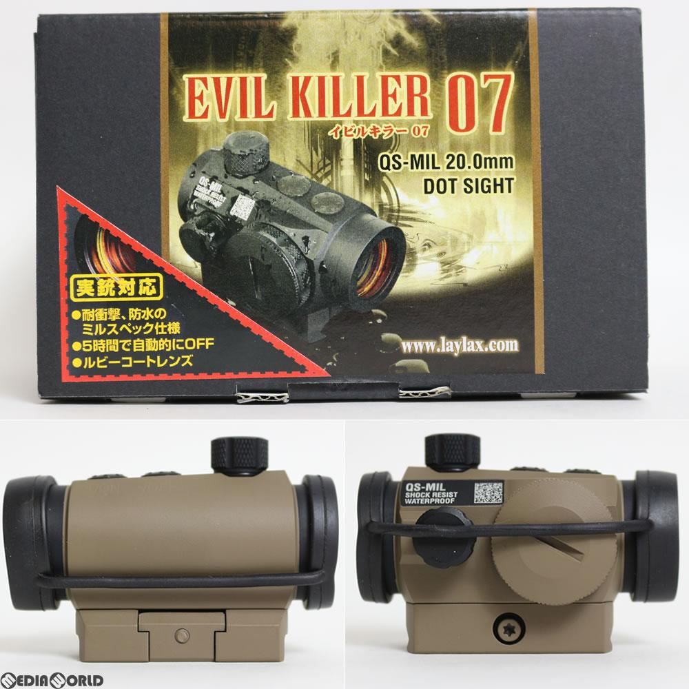 【新品即納】[MIL]LayLax(ライラクス) ダットサイト「Evil Killer 07」 セラコートVer(Quintes sence MIL) マグプルダークアース(20160430)