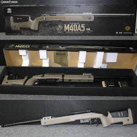 【新品】【O倉庫】[MIL]東京マルイ ボルトアクションエアーライフル M40A5 F.D.E.ストック (18歳以上専用)(20181226)