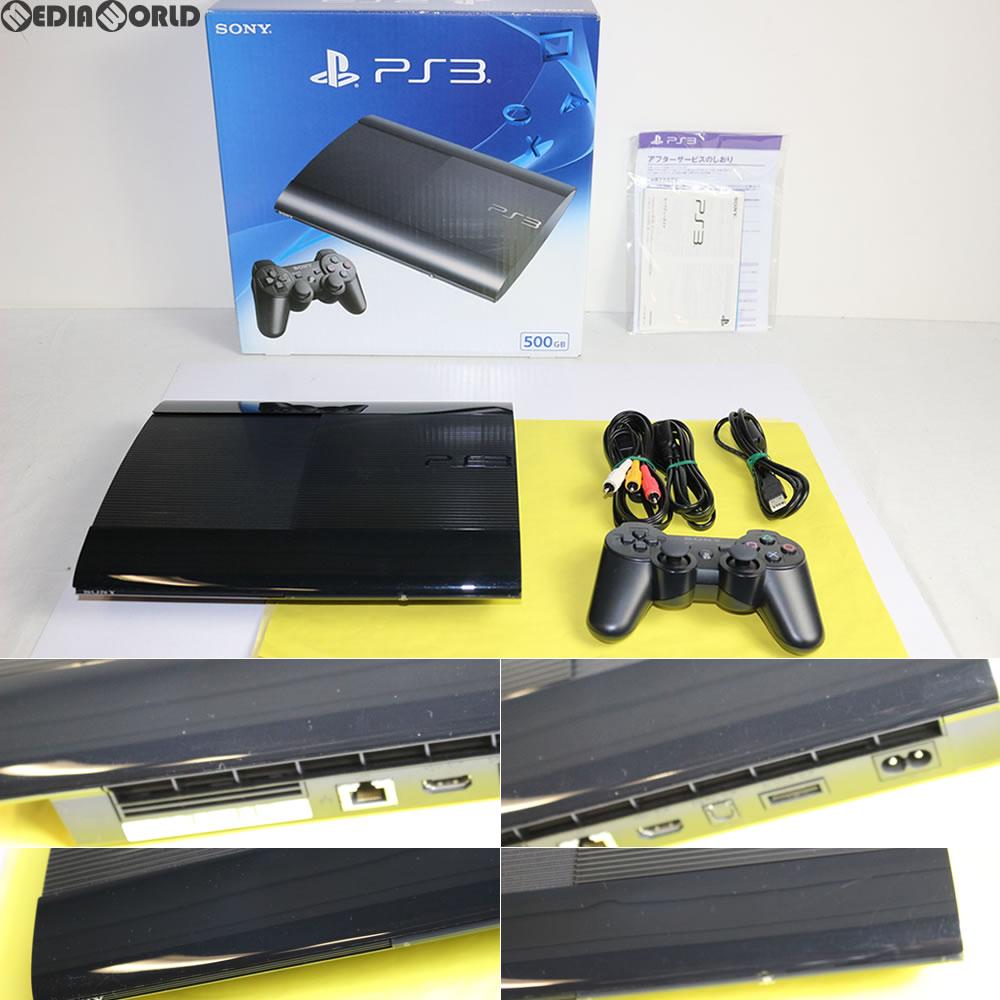 【中古】[訳あり][本体][PS3]プレイステーション3 PlayStation3 HDD500GB チャコール・ブラック(CECH-4300C)(20140828)