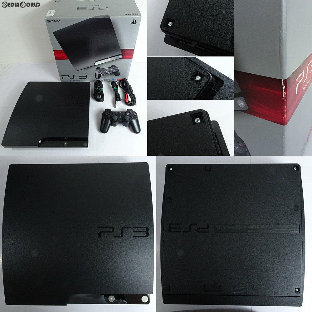 【中古】[訳あり][本体][PS3]プレイステーション3 PlayStation3 HDD250GB チャコール・ブラック(CECH-2000B)(20100218)