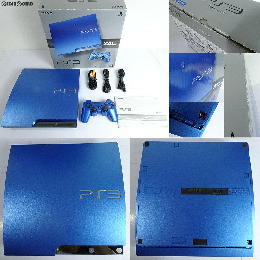 【中古】[訳あり][本体][PS3]プレイステーション3 PlayStation3 HDD320GB スプラッシュ・ブルー(CECH-3000BSB)(20111117)