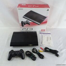 【中古】【訳あり】[本体][PS3]PlayStation3 プレイステーション3 HDD250GB チャコール・ブラック(CECH-4000B)(20121004)