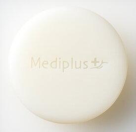 【公式】メディプラス オイルクリームソープ 60g (2か月分)   うるおいアップ 洗顔石鹸 濃厚クリーム泡 美容オイル セラミド 保湿 無添加